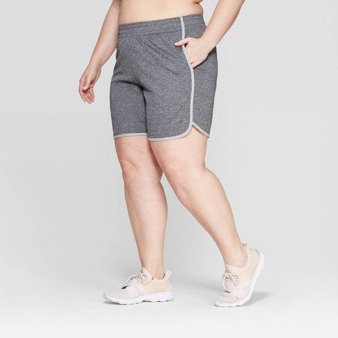 1636a9a1dc77 Women s Plus Size Mid-Rise Everyday Sport Shorts 5