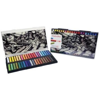 Conte Soft Pastel Set, Assorted Colors, set of 40