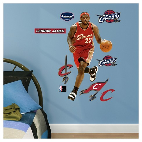 "Cleveland Cavaliers Fathead® Decorative Wall Art Set - 40""x3""x3"" - image 1 of 1"
