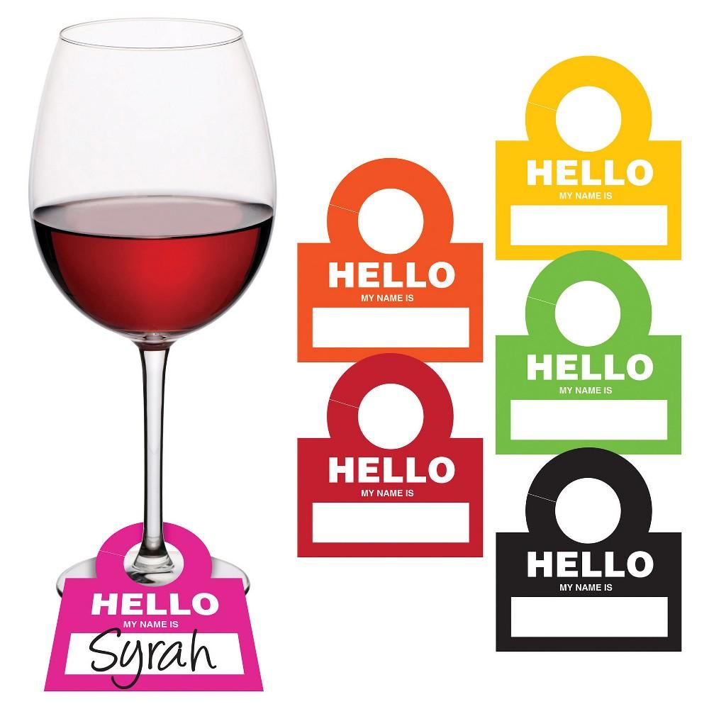12ct Sip Sip Hooray Wine Drinktag