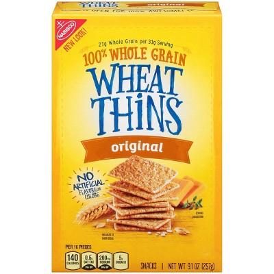 Wheat Thins Original Snack Crackers - 9.1oz