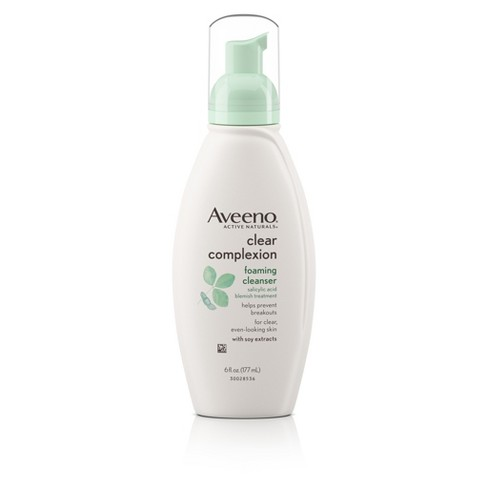 Aveeno® Clear Complexion Foaming Cleanser- 6 Fl. Oz - image 1 of 9