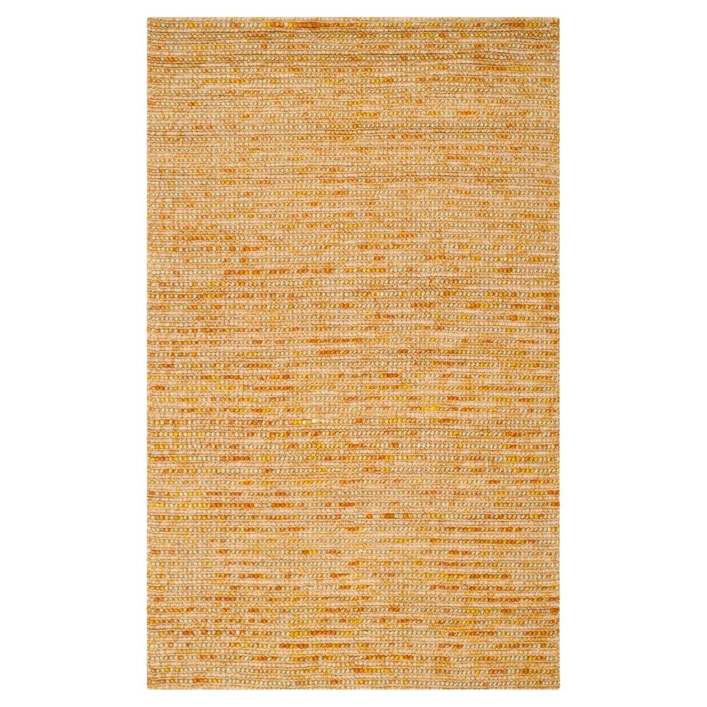 Gold Stripe Woven Area Rug - (5'X8') - Safavieh, Gold/Multicolor