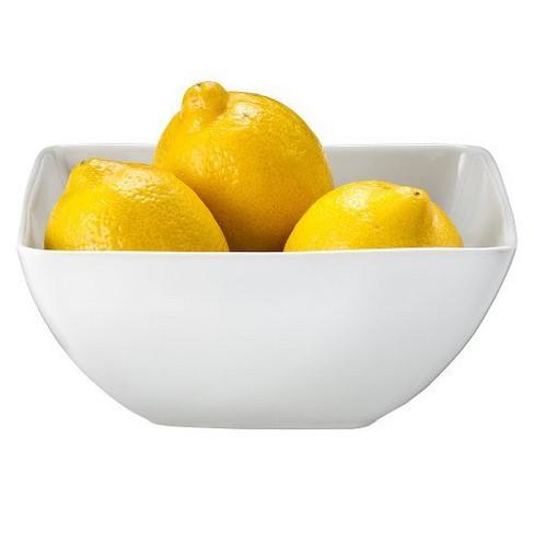 24oz Porcelain Square Bowl White - Threshold™ - image 1 of 1