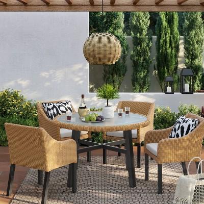 Berkshire 5pc Patio Dining Set - Threshold™