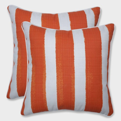 "16.5"" 2pk Nico Marmalade Throw Pillows Orange - Pillow Perfect - image 1 of 1"