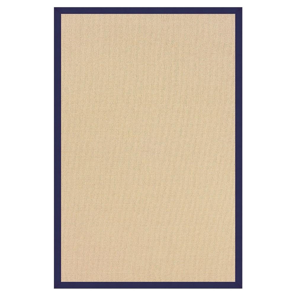 Athena Wool Area Rug - Blue (4' X 6')