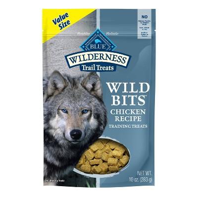 Blue Buffalo Wilderness 100% Grain-Free Wild Bits Chicken Recipe Dog Treats