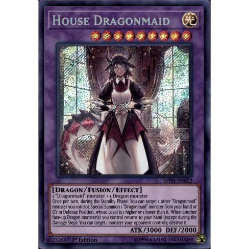YUGIOH House Dragonmaid MYFI-EN022 Secret rare 1st Edition