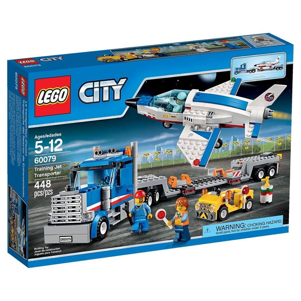 Lego City Space Port Training Jet Transporter 60079