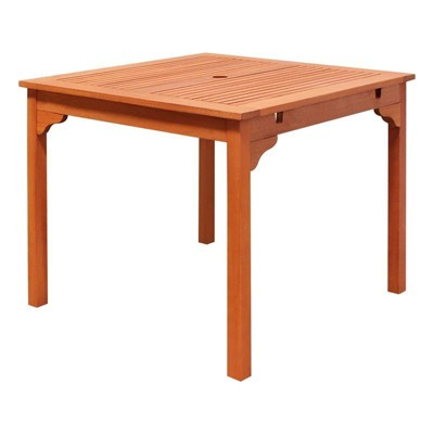 Wood Stacking Table in Brown-Pemberly Row