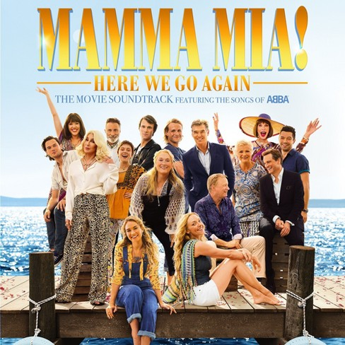Mamma Mia! Here We Go Again (The Original Motion Picture Cast Recording) (CD) - image 1 of 1
