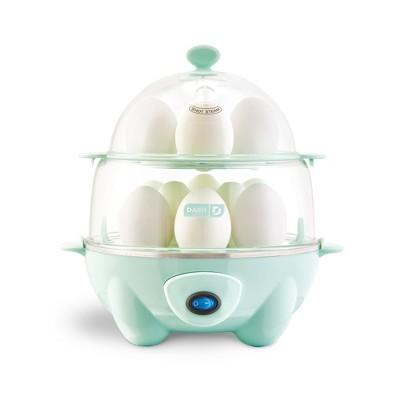 Dash Deluxe Egg Cooker - Aqua