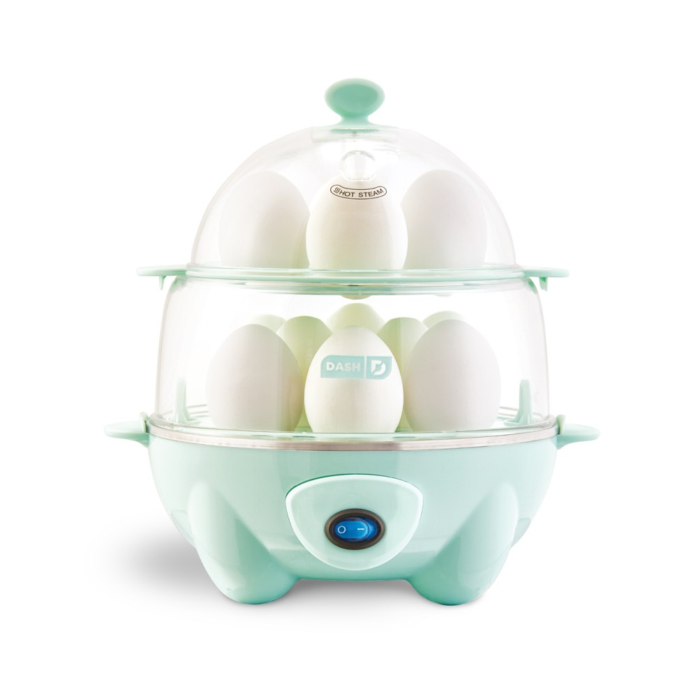 Dash Deluxe Egg Cooker – Aqua (Blue) 54084438