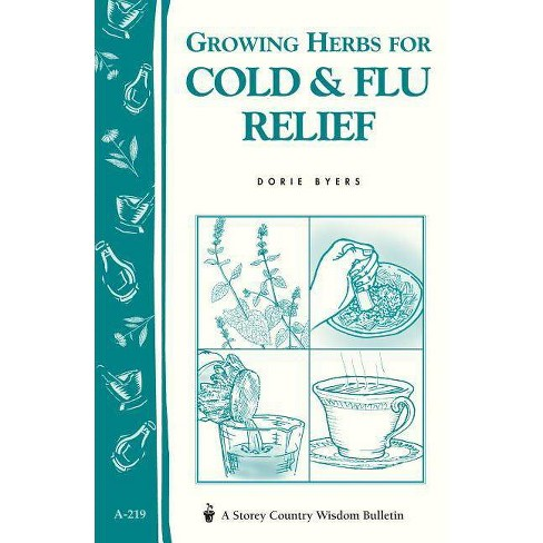 Growing Herbs for Cold & Flu Relief - (Storey Country Wisdom Bulletin) by  Dorie Byers (Paperback) - image 1 of 1