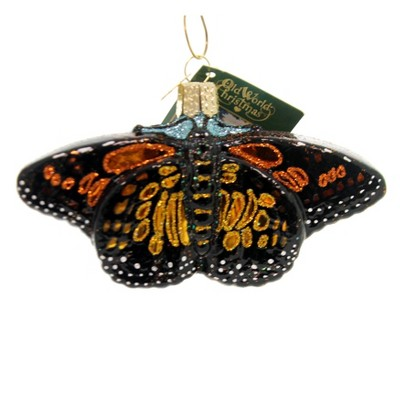 Old World Christmas 2 25 Monarch Butterfly Ornament North America Tree Ornaments Target