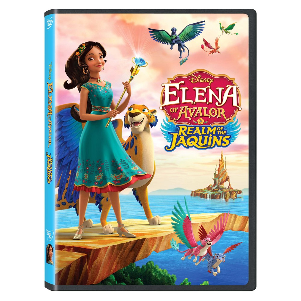 Elena of Avalor: Realm of the Jaquins (Dvd)