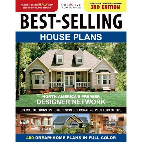 Best-Selling House Plans - (Paperback) - image 1 of 1