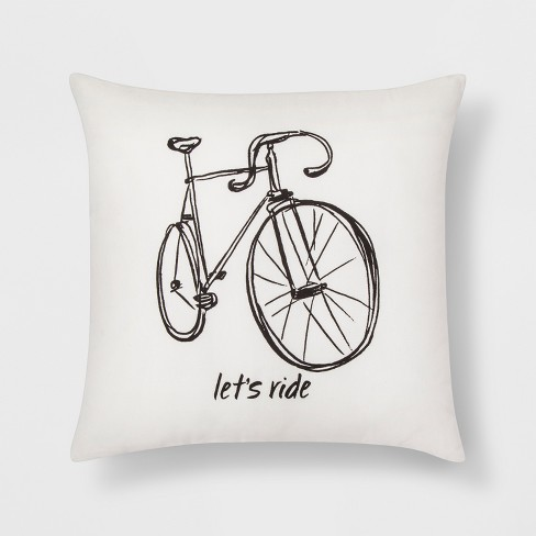 Let S Ride Bike Throw Pillow Room Essentials Target