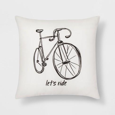 Let S Ride Bike Throw Pillow Room Essentials Target