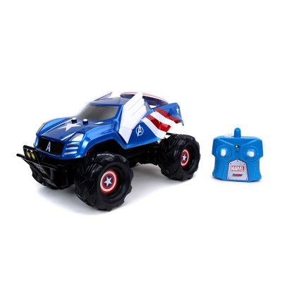 Marvel Captain America Shield Attack RC Vehicle 1:14 Scale - Blue