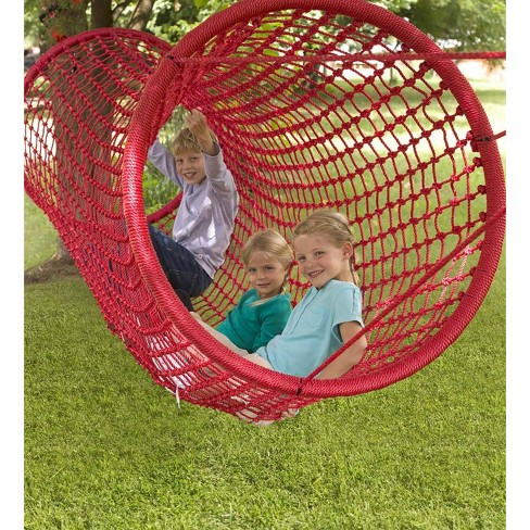 super popular 4eb81 99def Heavy-Duty Netted Rope Tunnel Bridge For Kids Outdoor Play ...