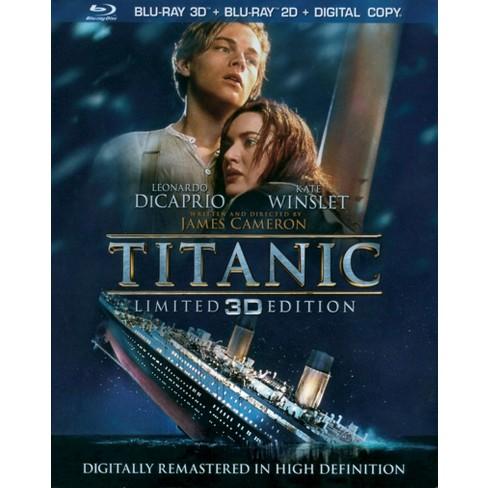 Titanic in 3D (4 Discs) (Includes Digital Copy) (3D/2D) (Blu-ray) (W) - image 1 of 1