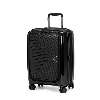 "SWISSGEAR 20"" Geneva Hardside Computer Access Expandable Suitcase - Black"