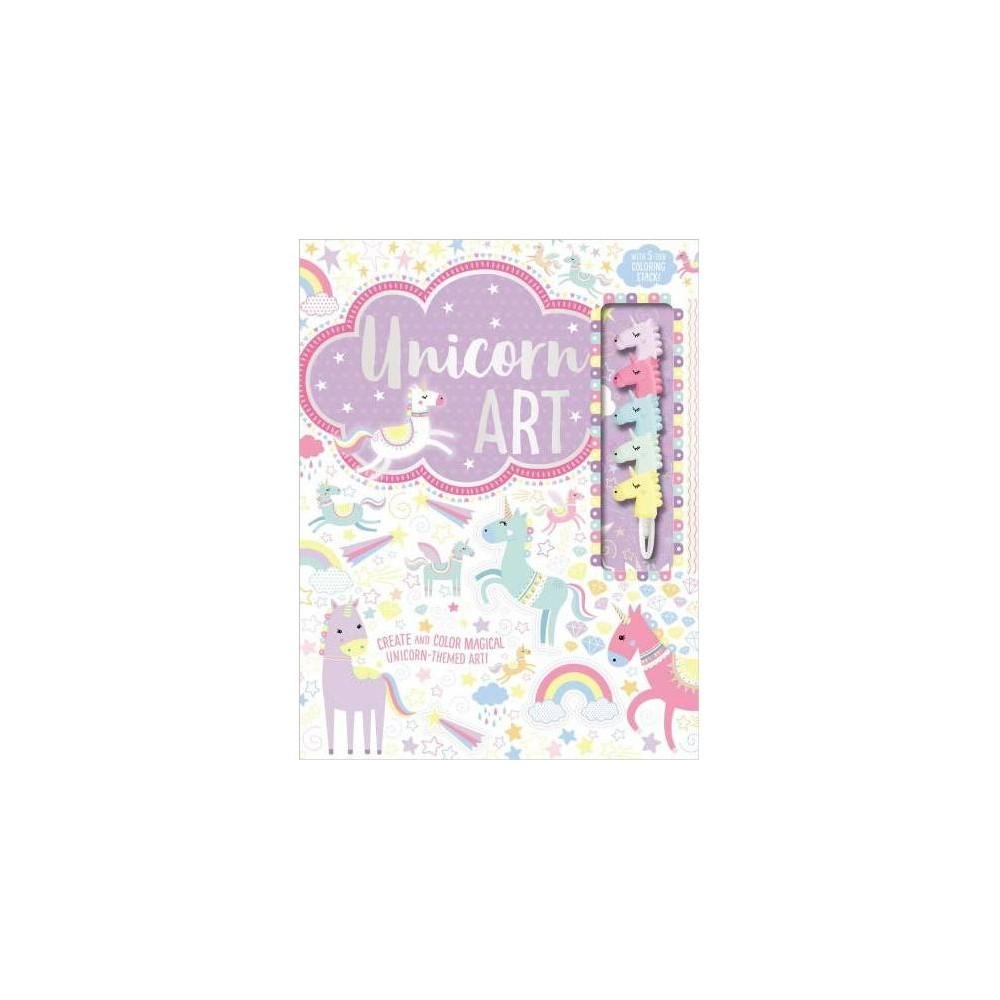 Art Books Unicorn Art - (Art Books) by Ltd. Make Believe Ideas (Paperback)