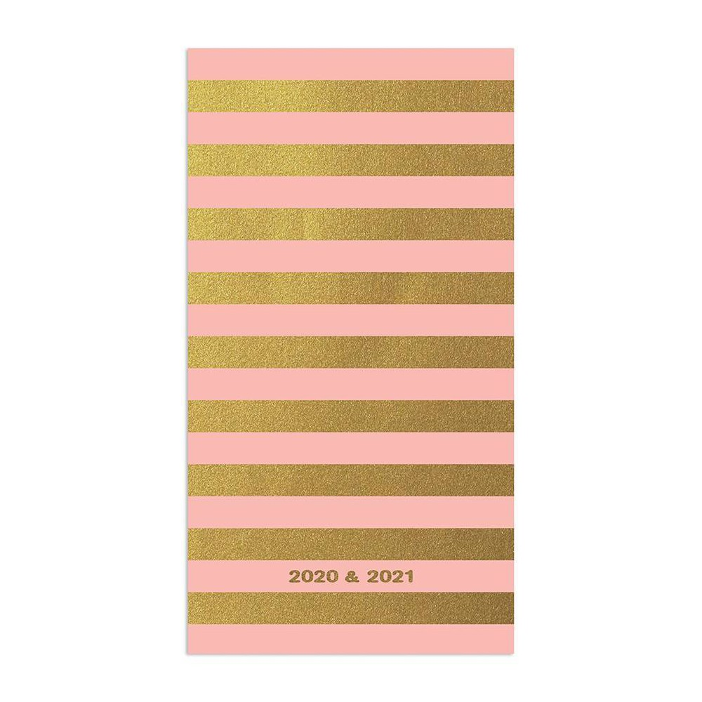 """Image of """"2020-21 2yr Planner 6.5"""""""" x 3.5"""""""" Bubble Gum Gold"""""""