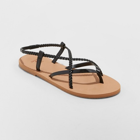 Women's Cami Braided Thong Sandals - Shade & Shore™ - image 1 of 3