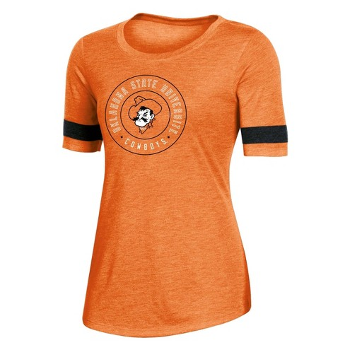NCAA Oklahoma State Cowboys Women's Short Sleeve Crew Neck T-Shirt - image 1 of 2