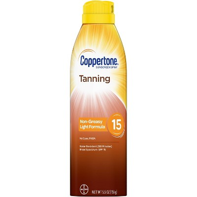 Sunscreen & Tanning: Coppertone Tanning