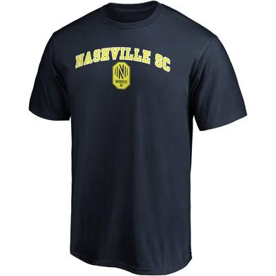 MLS Nashville SC Men's Short Sleeve Crew Neck Core T-Shirt