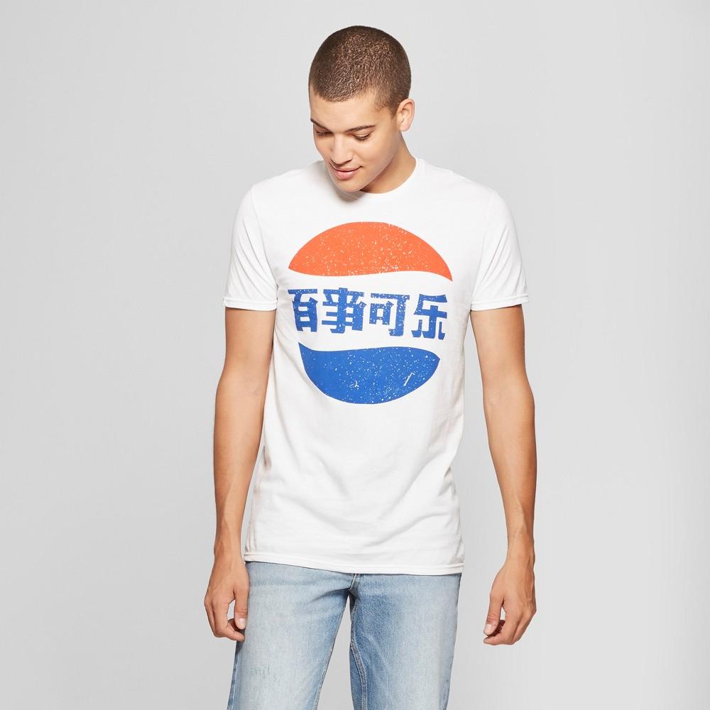 Men's Pepsi Short Sleeve T-Shirt - White 2XL