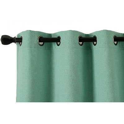 Kate Aurora Oversized Grommet Top Window Valances