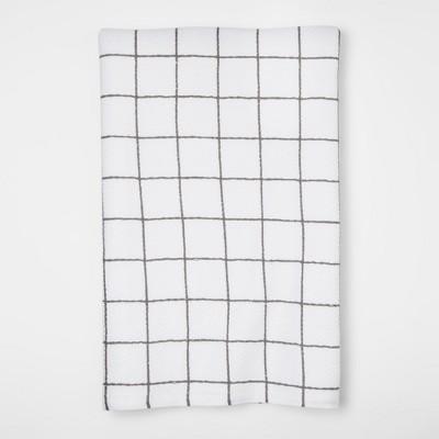 Gray Plaid Kitchen Towel - Project 62™