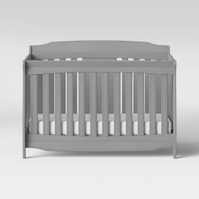 Delta Children Westminster 6-in-1 Convertible Baby Crib - Gray