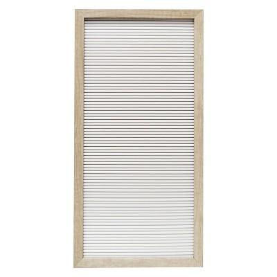 10 x20  Letter Board Decorative Wall Art White - Room Essentials™