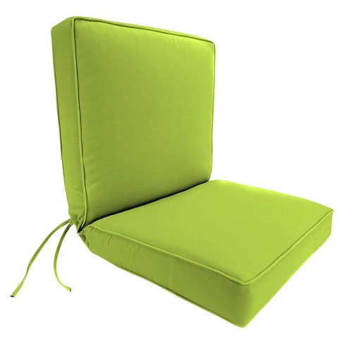 Jordan Boxed Edge Chair Cushion - Green Opaque - image 1 of 1