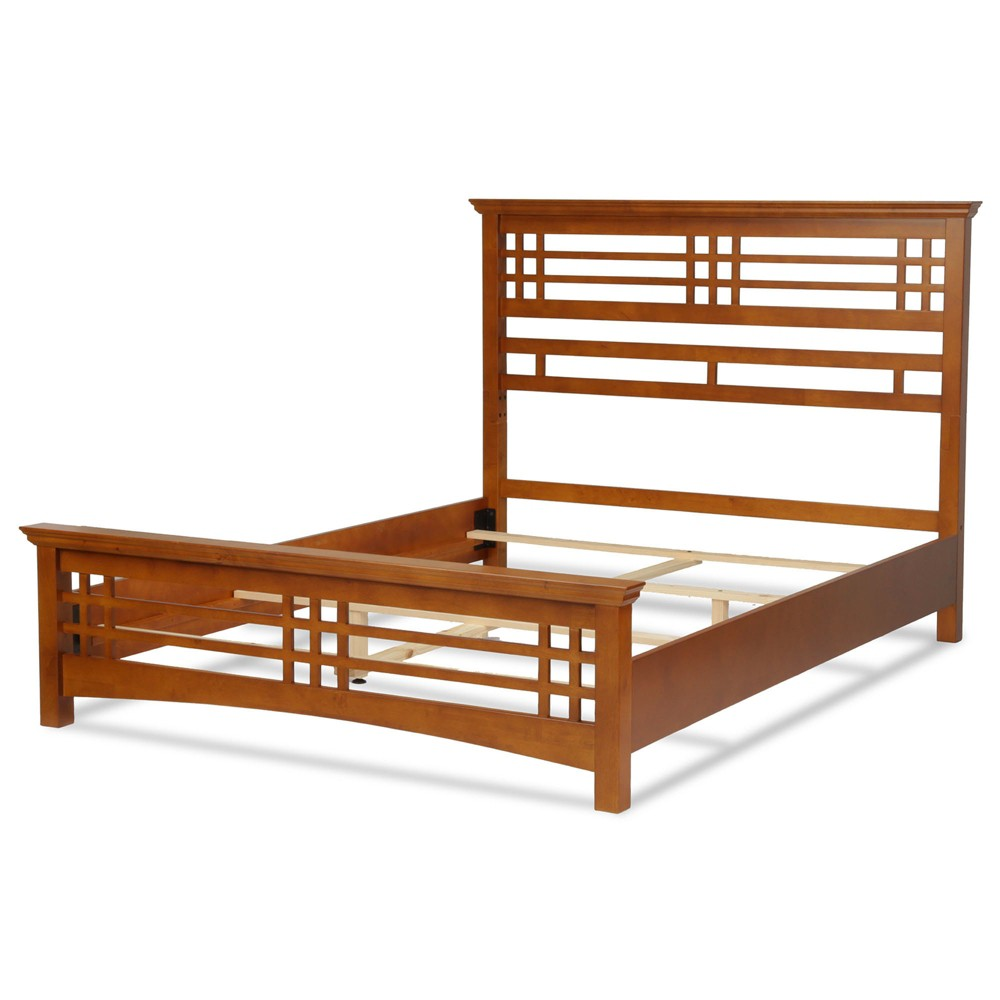 Avery Bed - Oak (Brown) - King - Fashion Bed Group