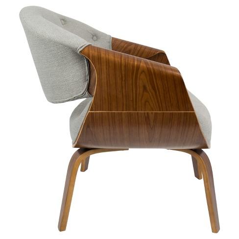 Curvo Mid Century Modern Accent Chair Lumisource Target