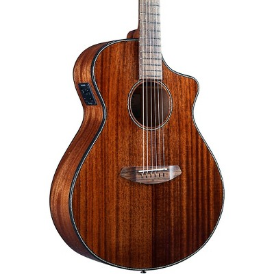 Breedlove Discovery S CE African Mahogany-African Mahogany HB Concert Acoustic-Electric Guitar Natural