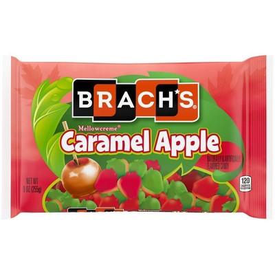 Brach's Halloween Caramel Apple Mellow Creme Candy - 9oz