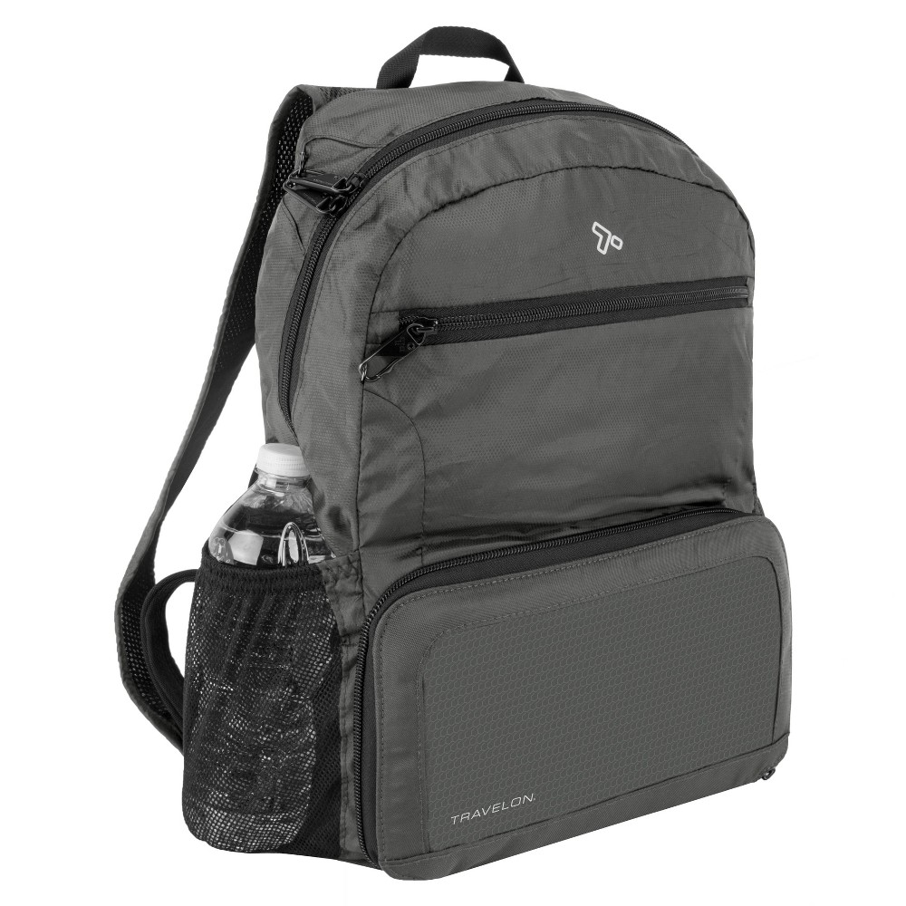Travelon 17 34 Rfid Anti Theft Backpack Charcoal