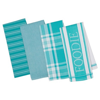 Julep Gourmet Kitchen Dishtowels Set Of 4 - Design Imports
