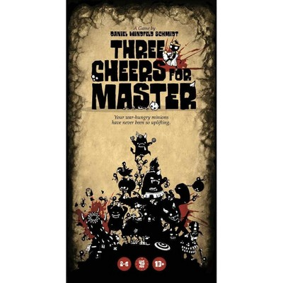 Three Cheers for Master Board Game
