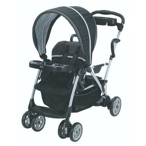 Graco Roomfor2 Click Connect Stand and Ride Stroller - Gotham - image 1 of 4