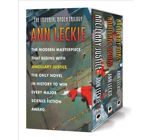 Imperial Radch Trilogy : Ancillary Justice / Ancillary Sword / Ancillary Mercy (Paperback) (Ann Leckie) - image 1 of 1