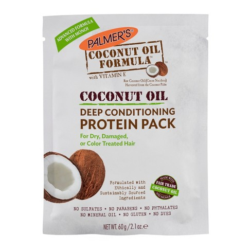 Palmer's Coconut Oil Formula Deep Conditioning Protein Pack - 2.1oz - image 1 of 2